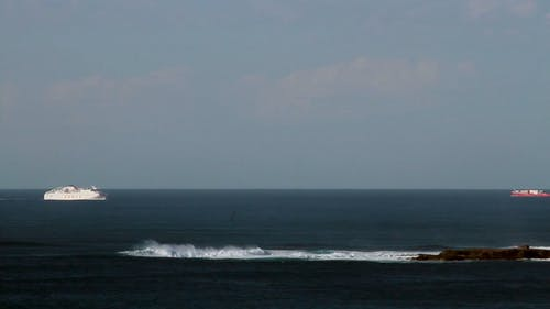 Watercrafts And Waves
