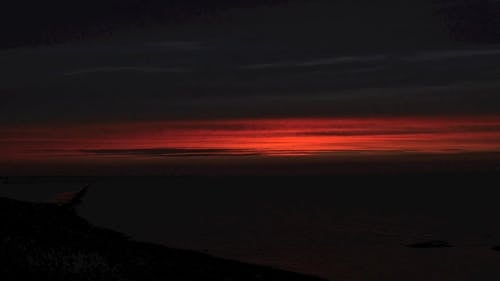 Time Lapse Video Of Sunrise By The Sea