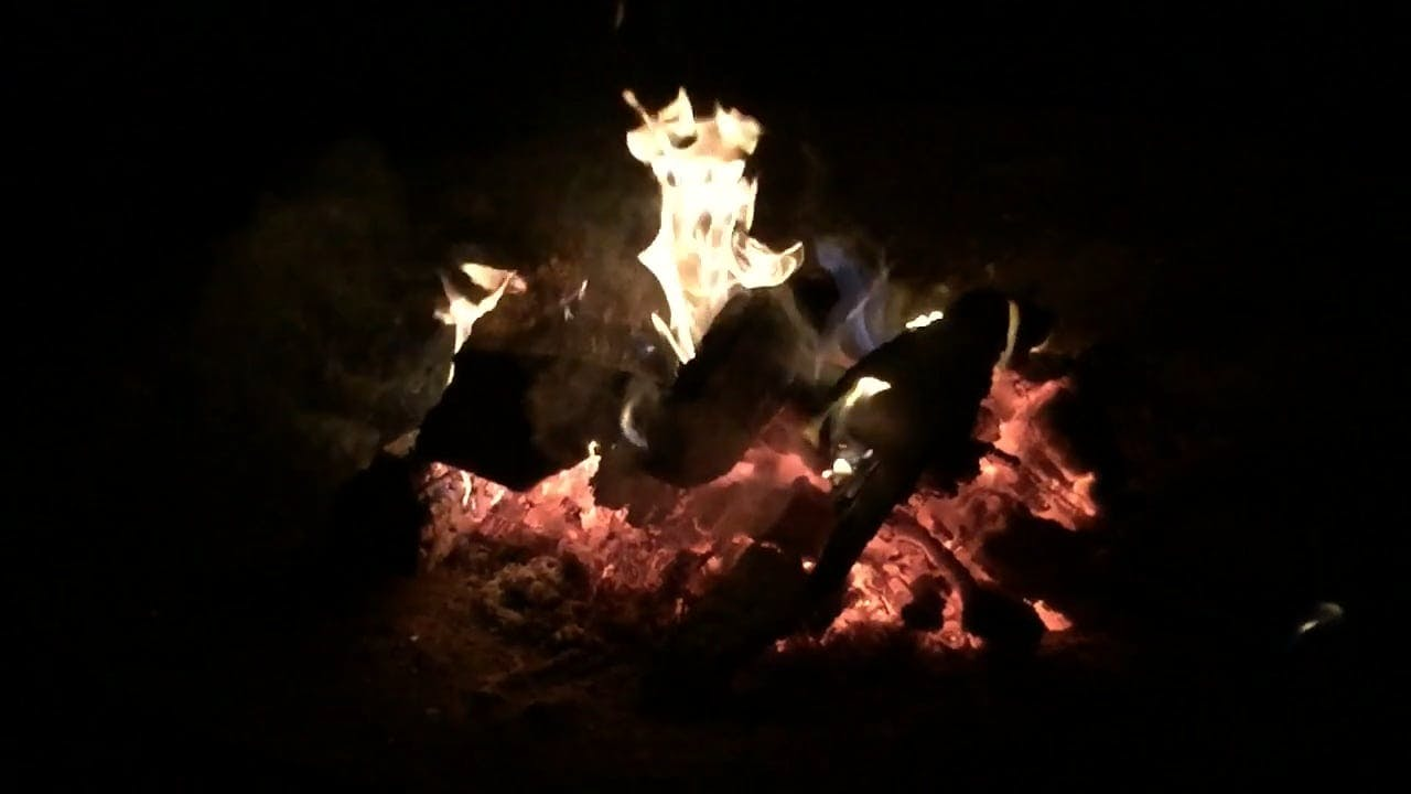 Video Of Campfire