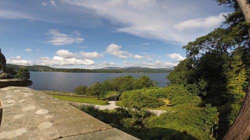 Panoramic Video Of Lake