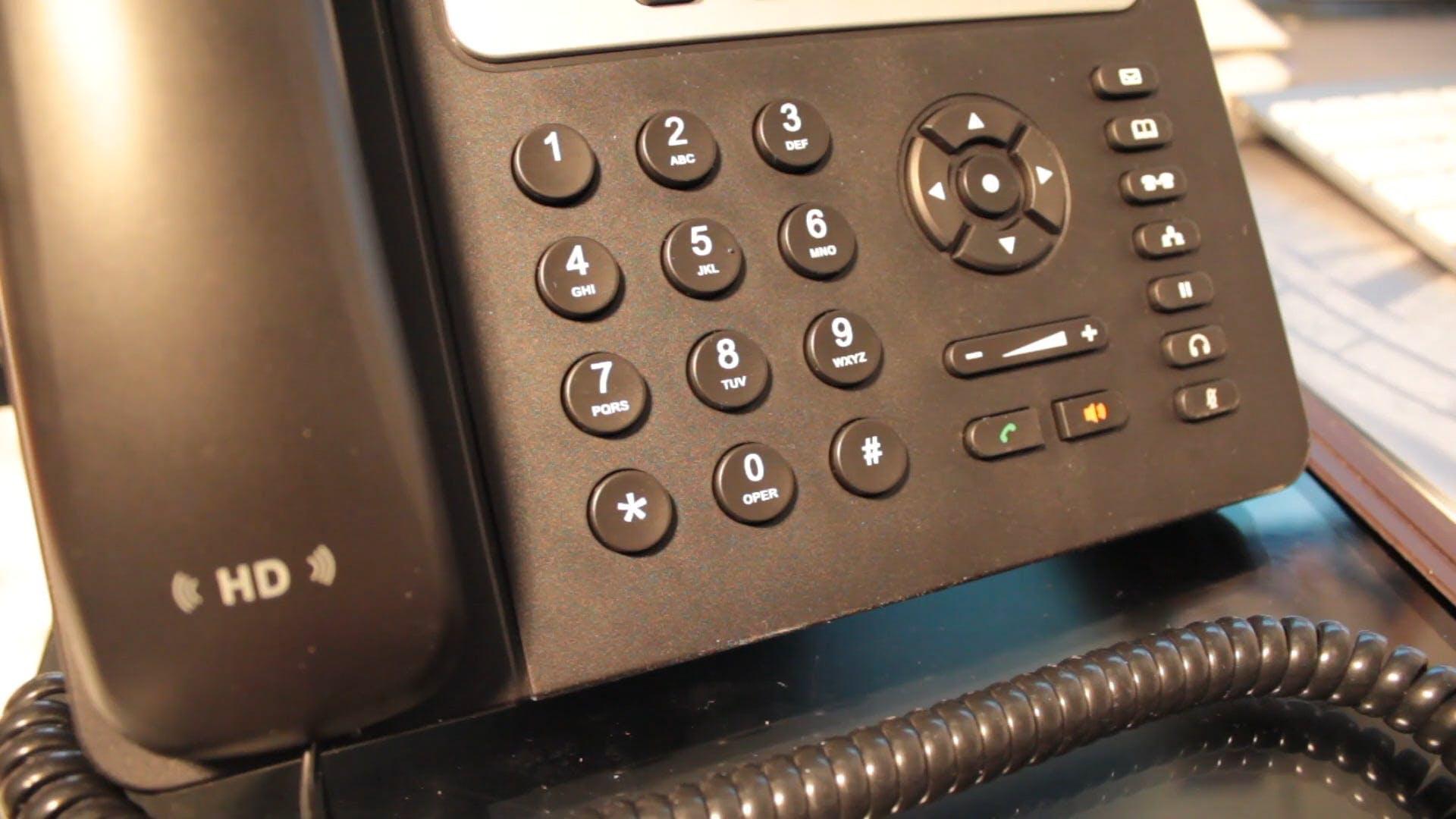 Using a Landline Telephone
