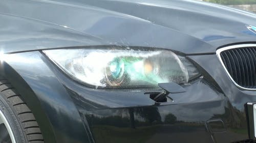 Headlight Washer in Action