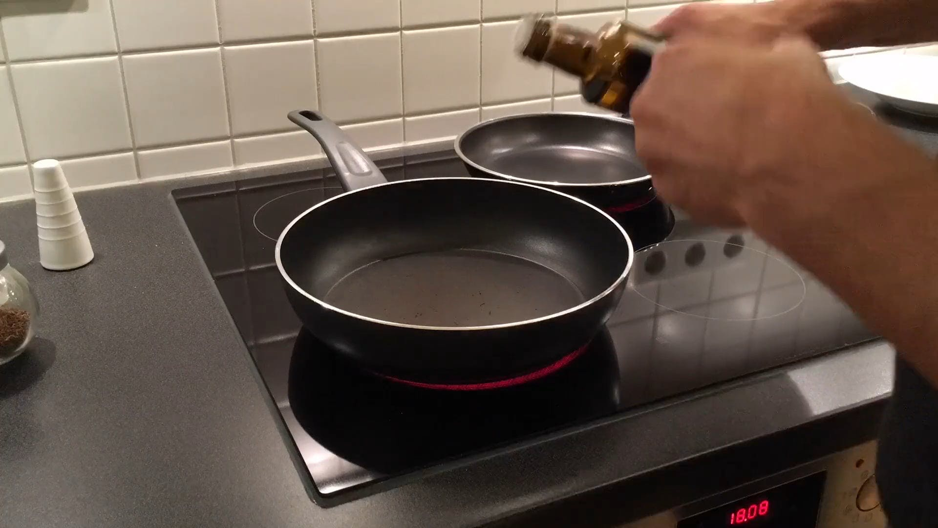 Cooking on Electric Stove