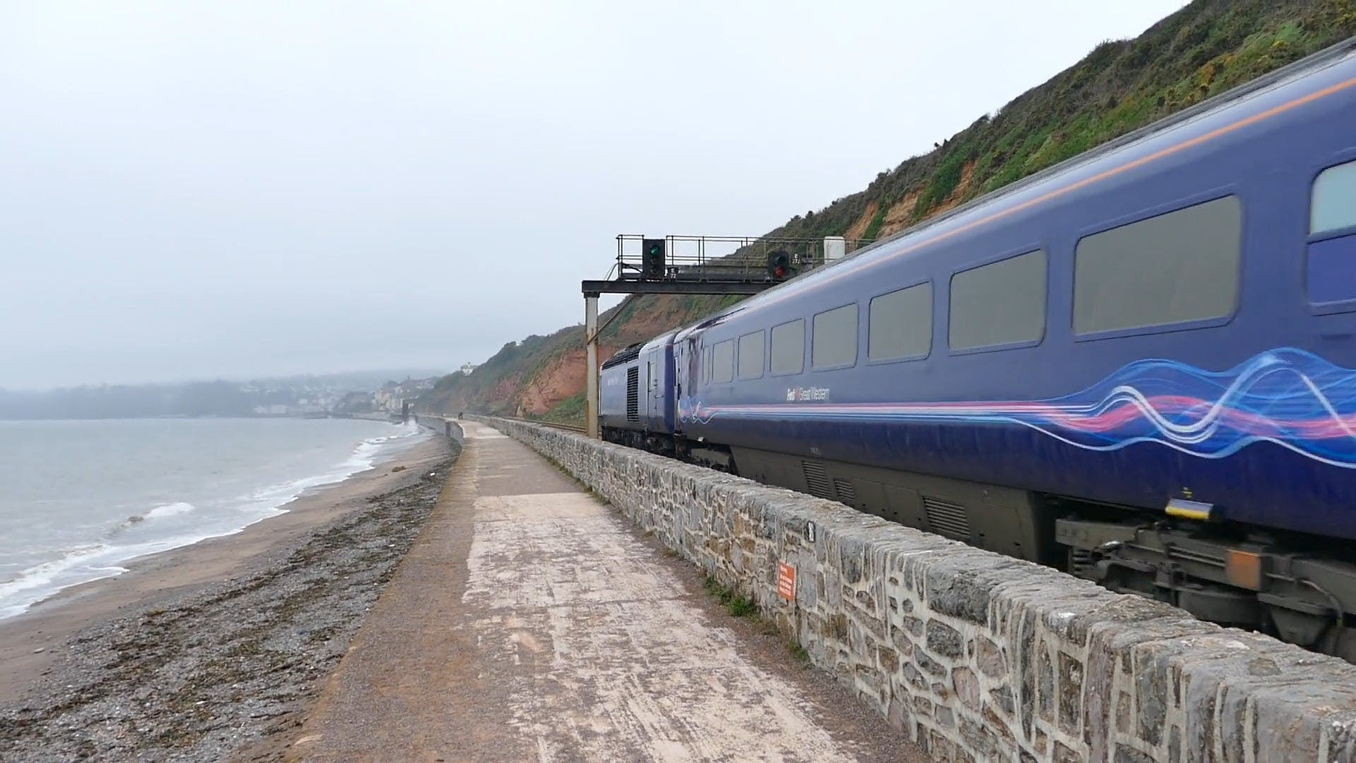 Video Of First Great Western Train