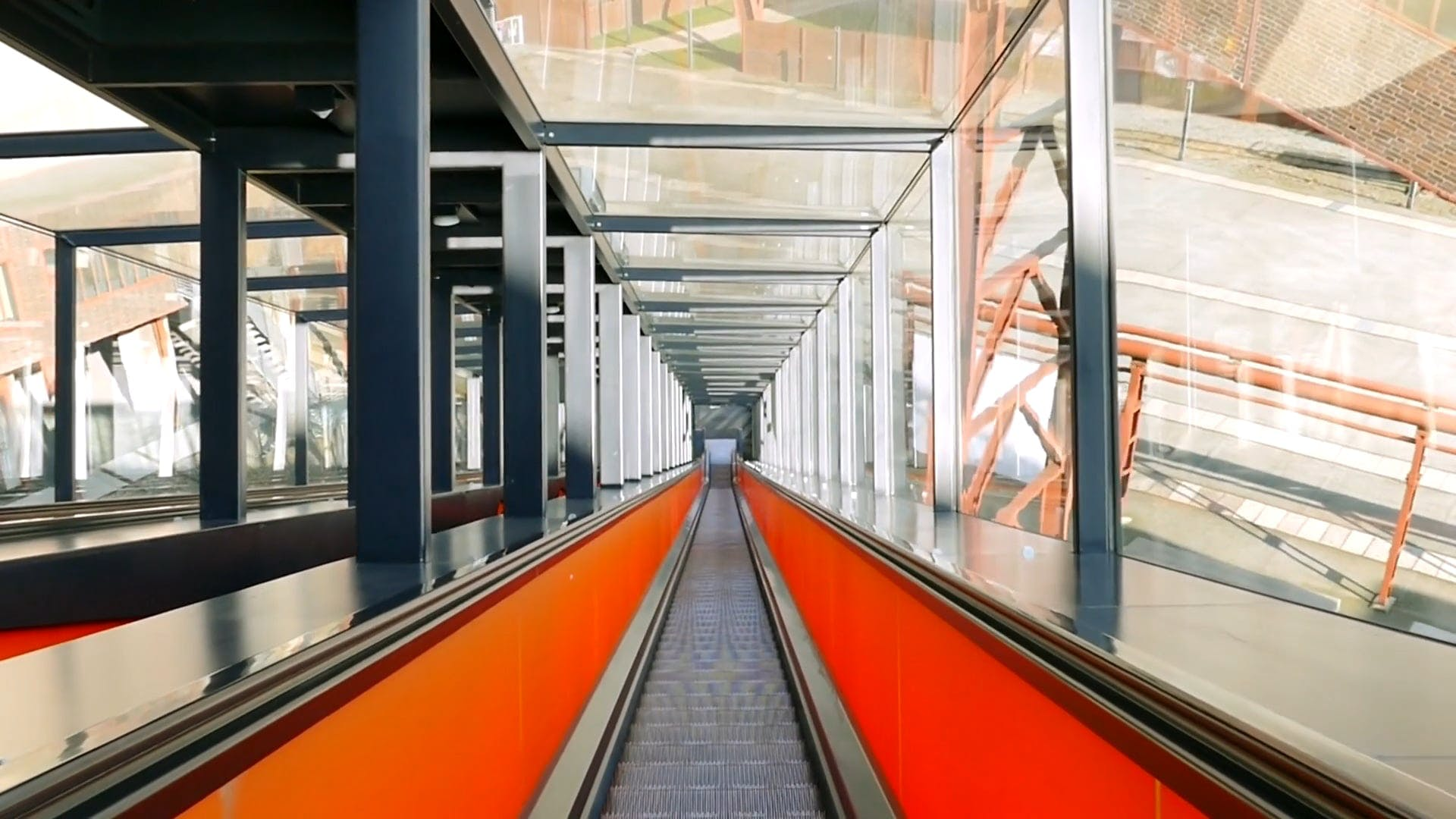 Video Of Escalator