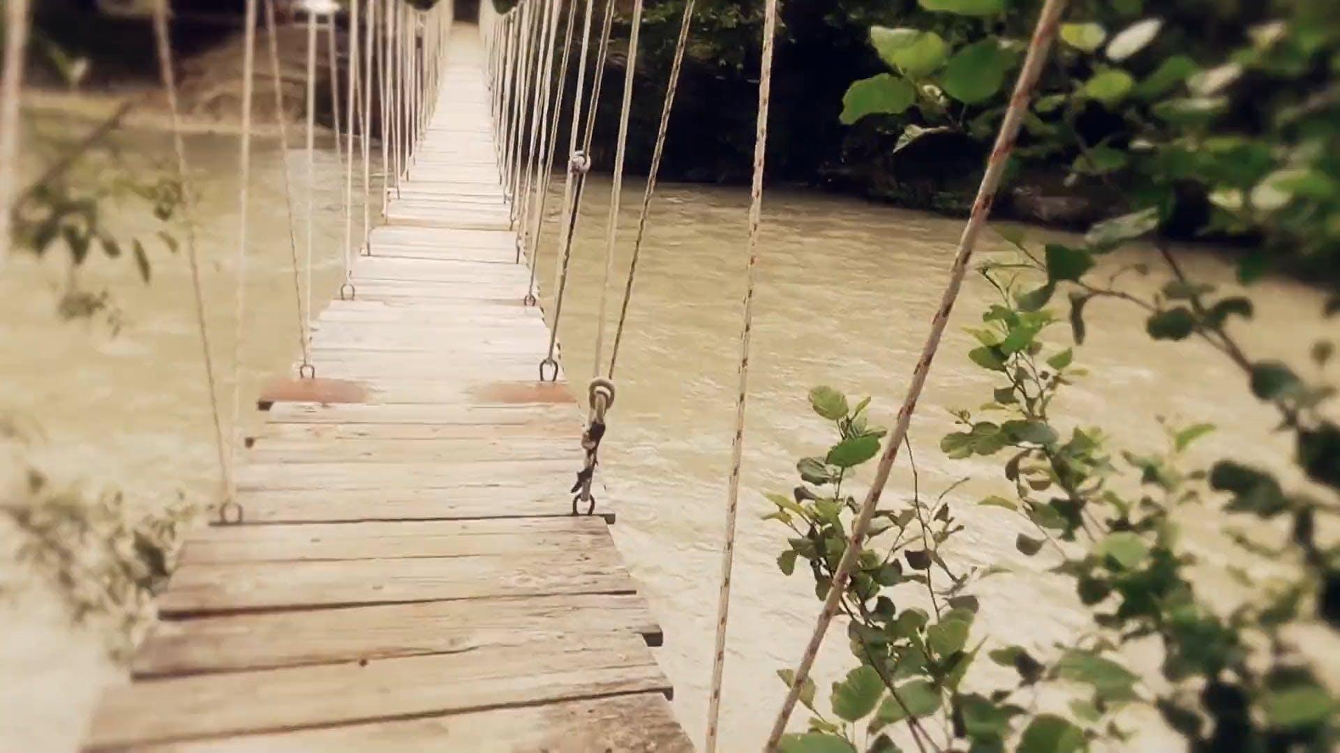 Video Footage Of Crossing A Bridge