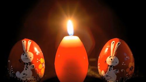 Egg Shaped Candle Melting