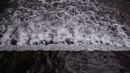 Water Flowing From Creek