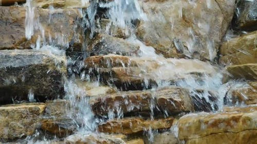 Close Up Video Of Waterfalls