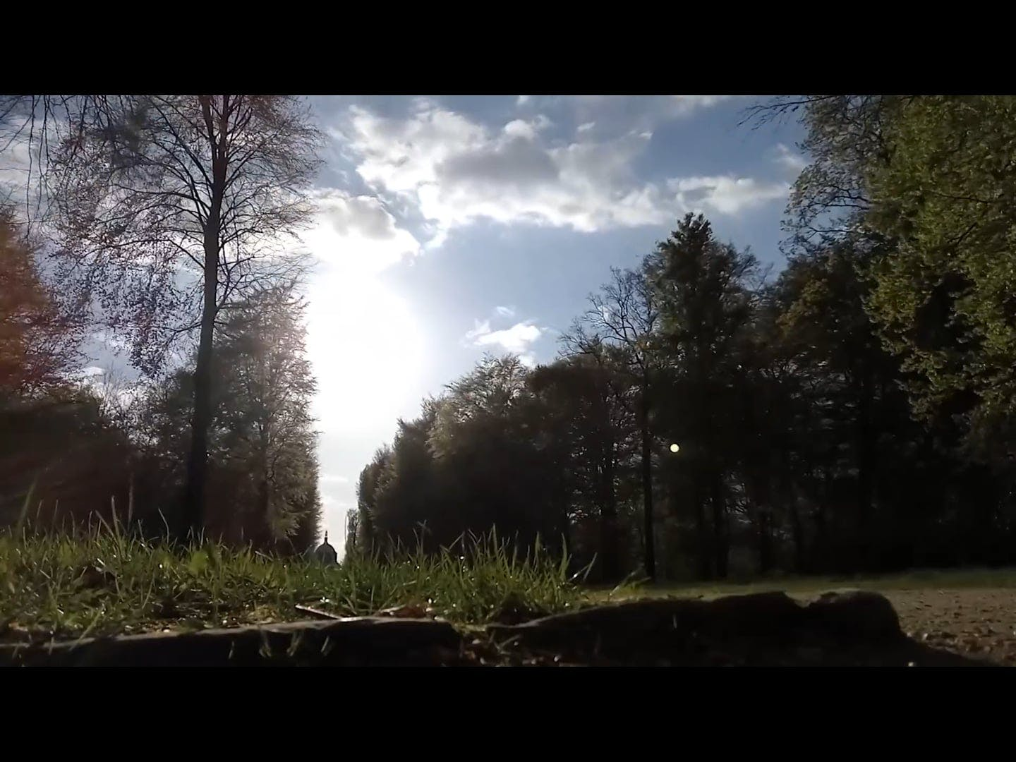 Time Lapse Video Of Clouds Over Trees