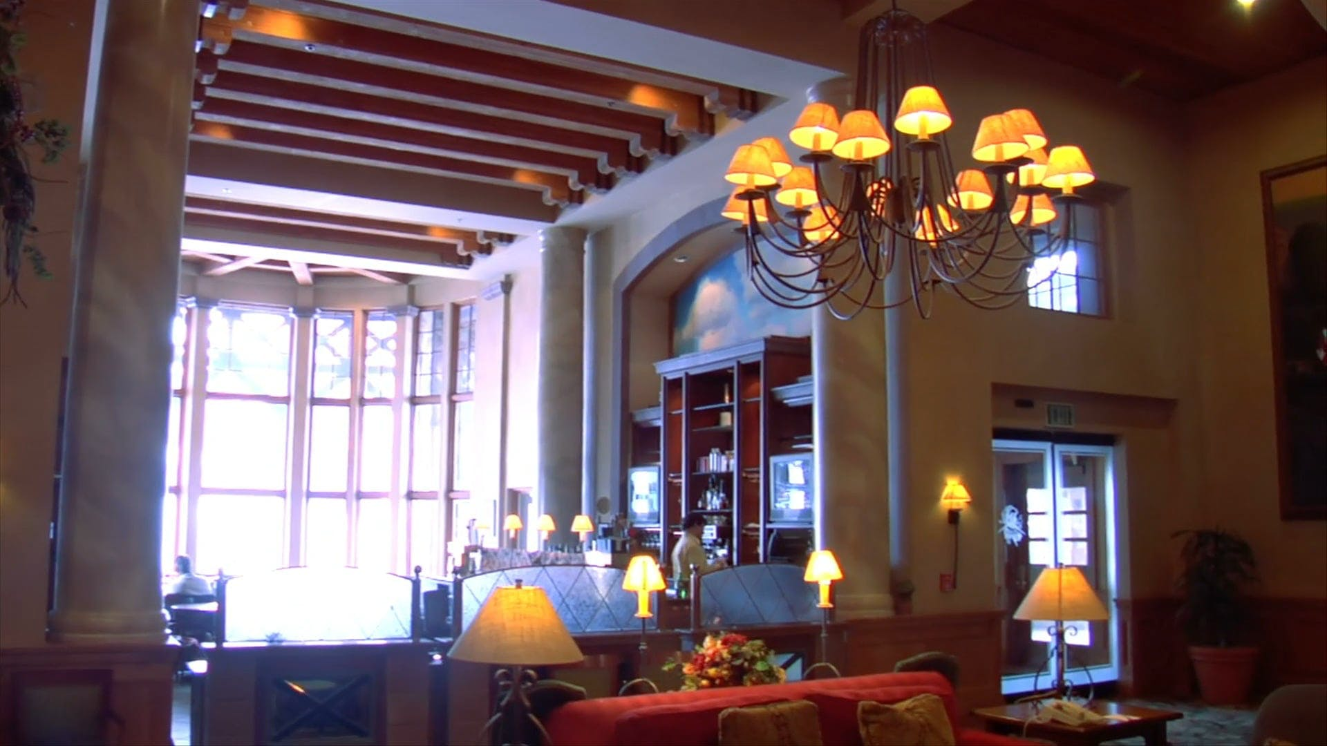 Video Of Hotel Lounge