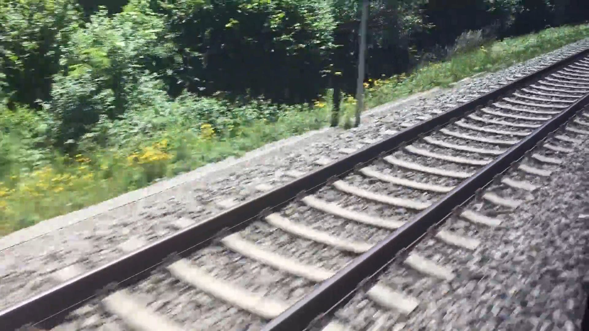 Video Footage Of A Railroad