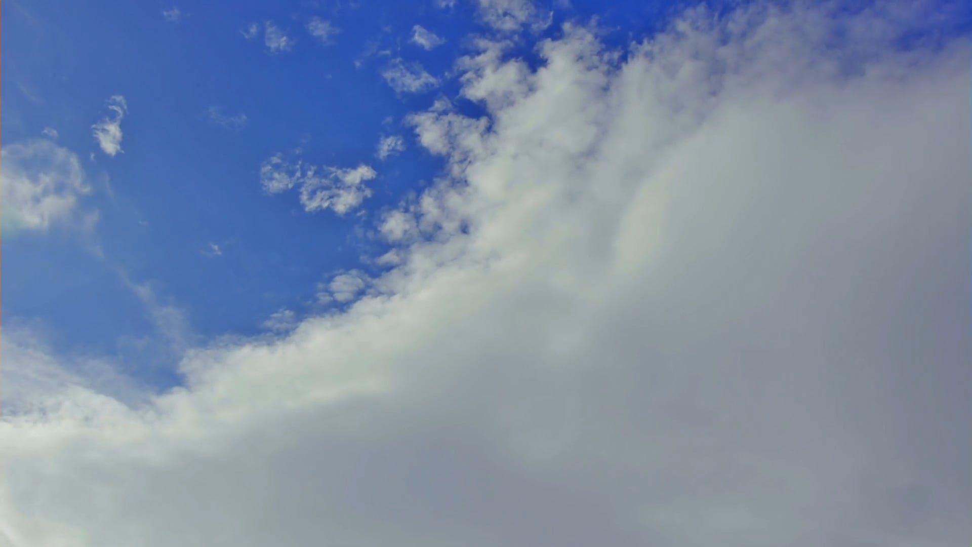 Video Of Cumulus Clouds