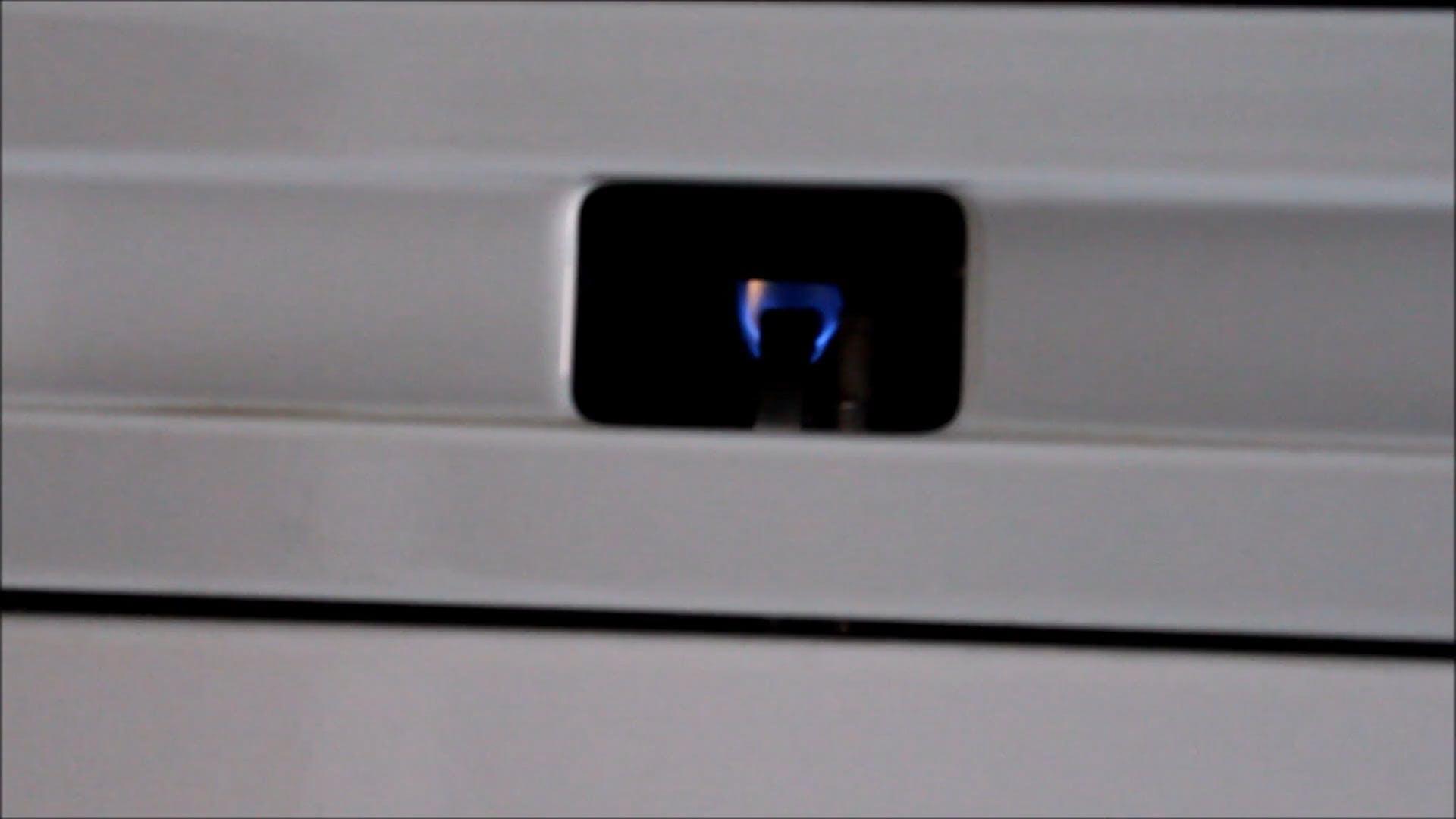 Video Of Flames In Burner
