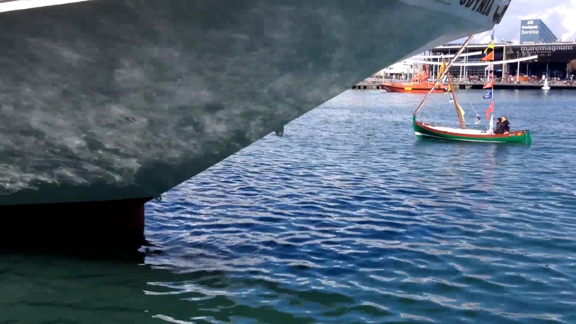 Sailboat Passing