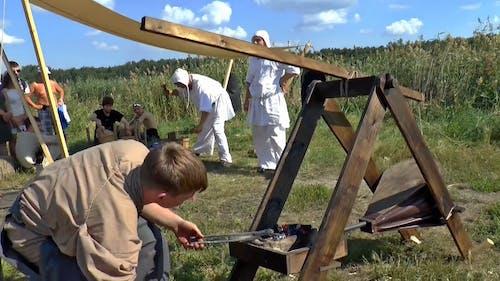 Group Of Blacksmith