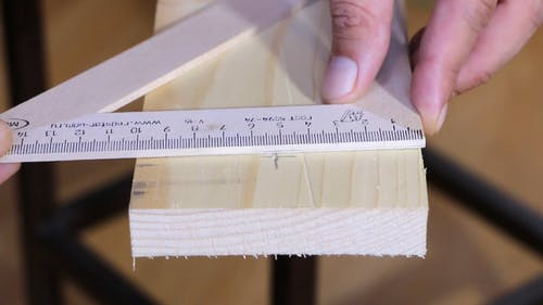 Drilling A Hole On Wood