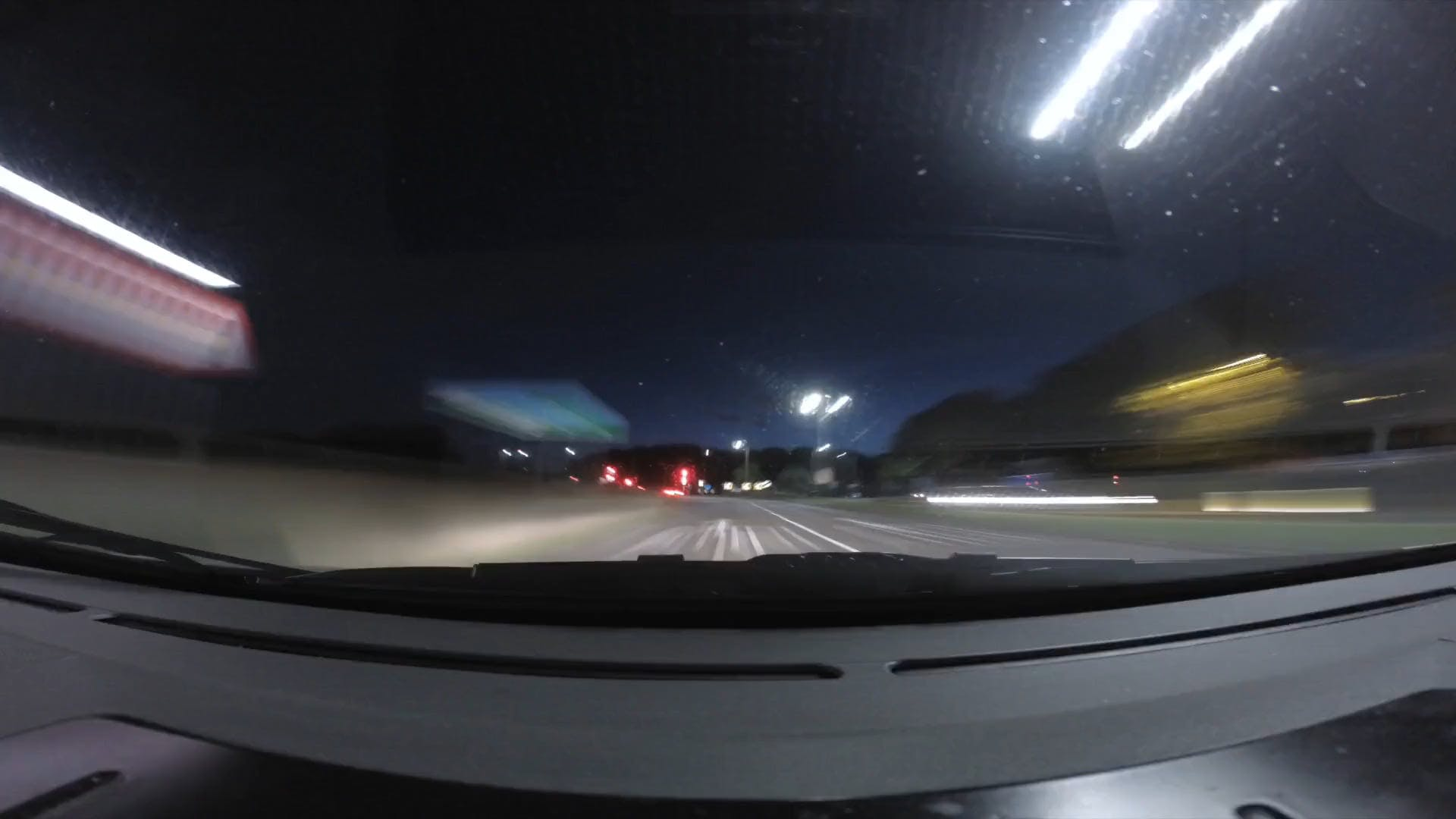 Time Lapse Video Of Car Travel