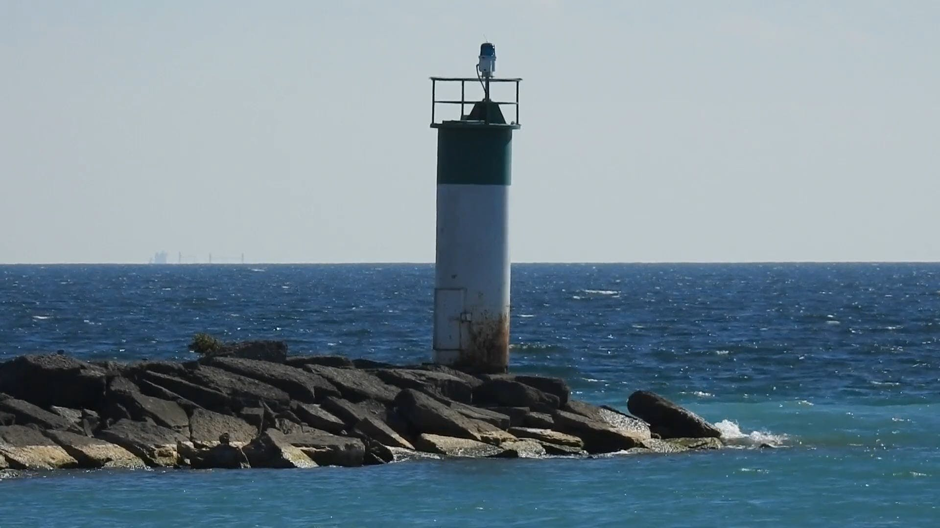 Close Up Video Of A Lighthouse