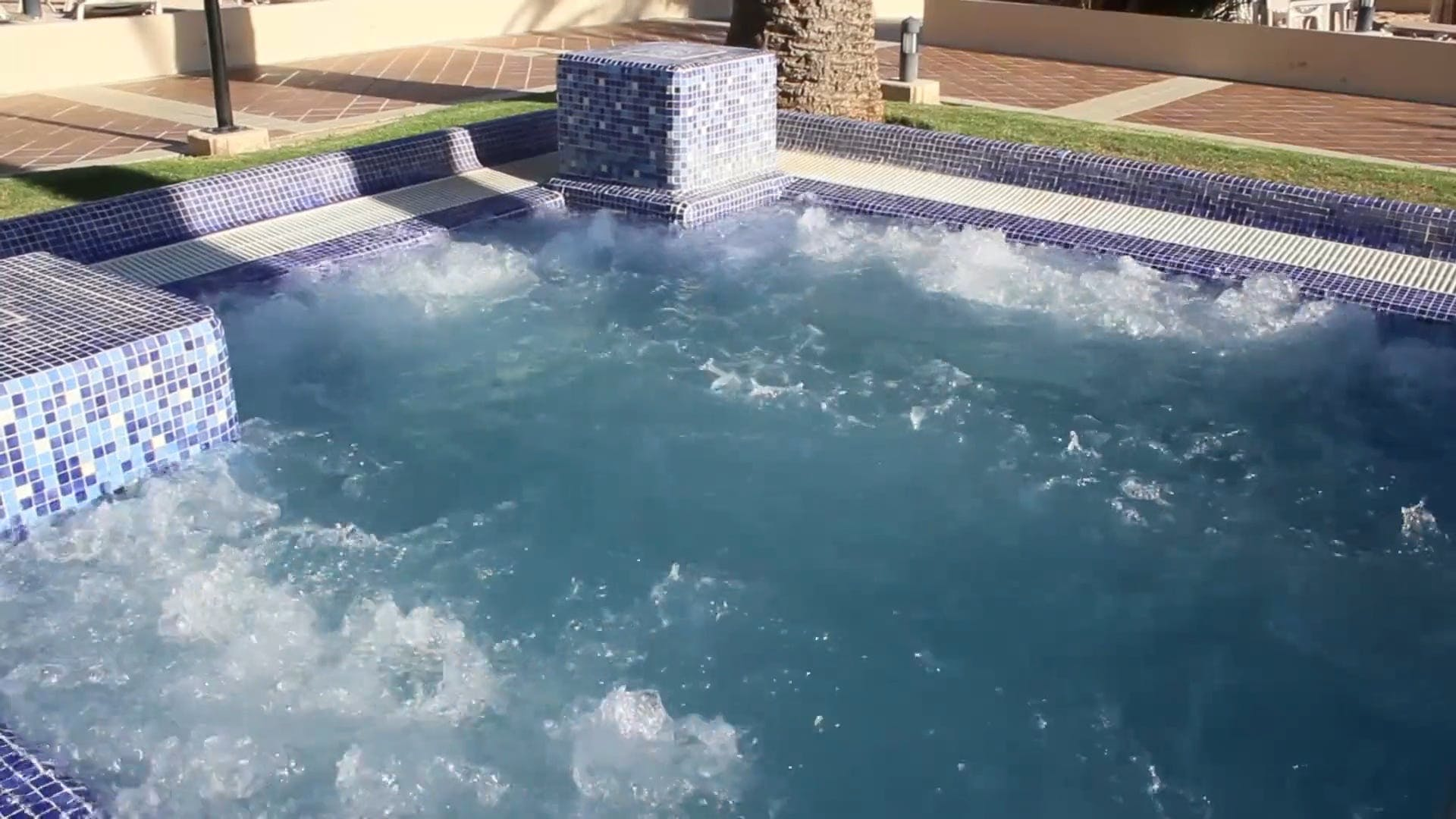 Steaming Jacuzzi