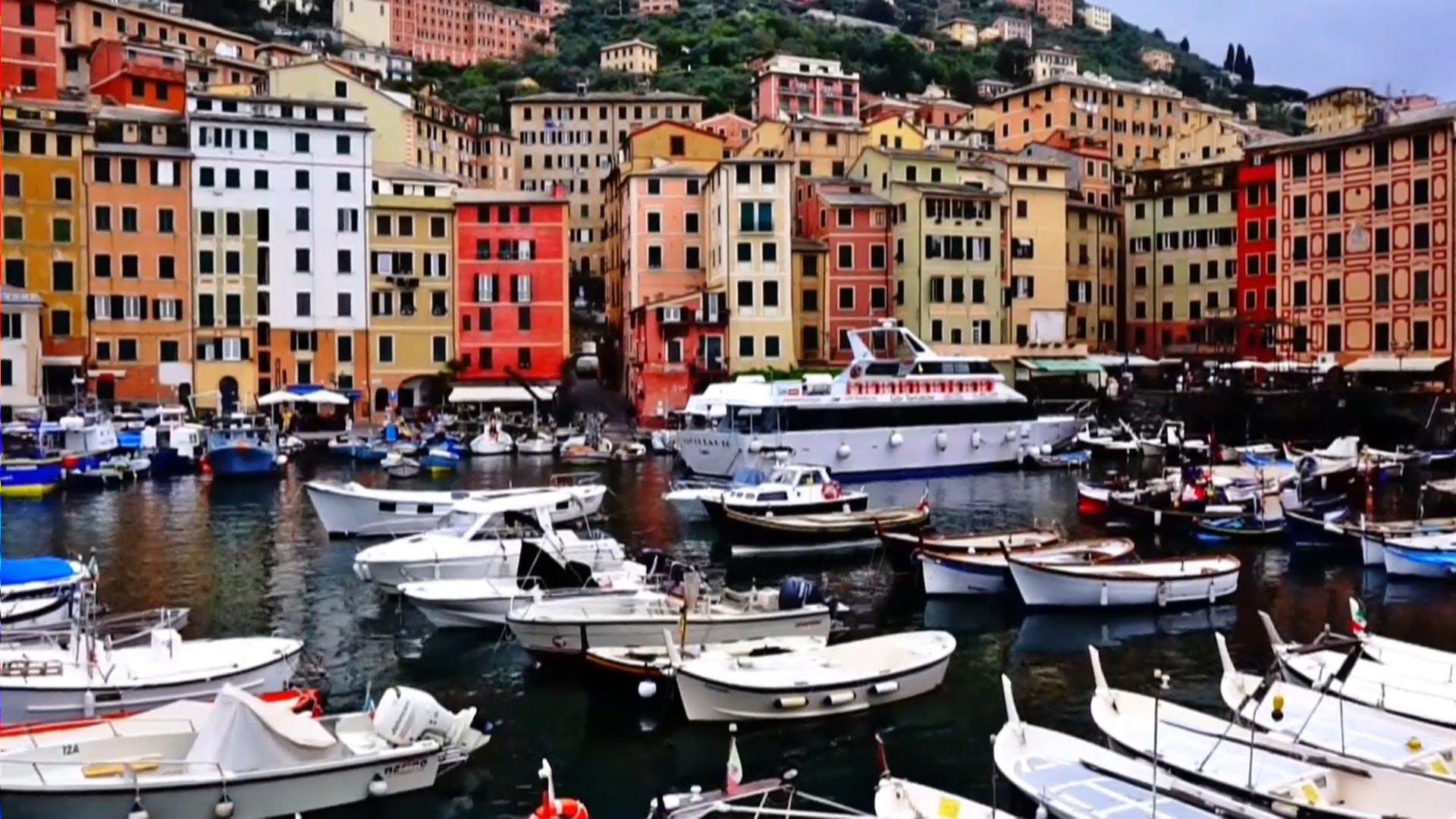 Boats Near Buildings