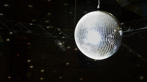 Disco Ball Shining