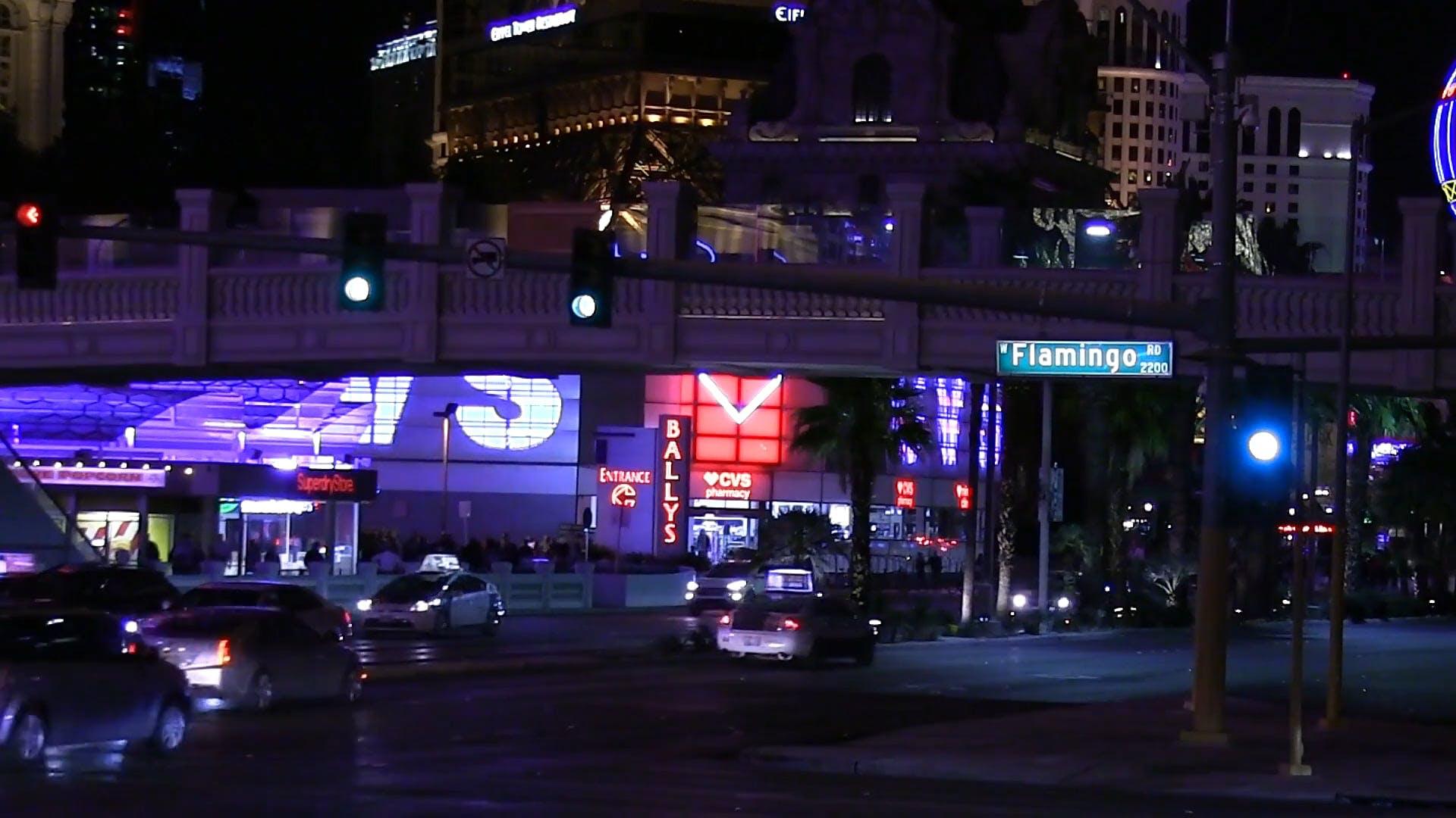 Video Of Traffic At Night