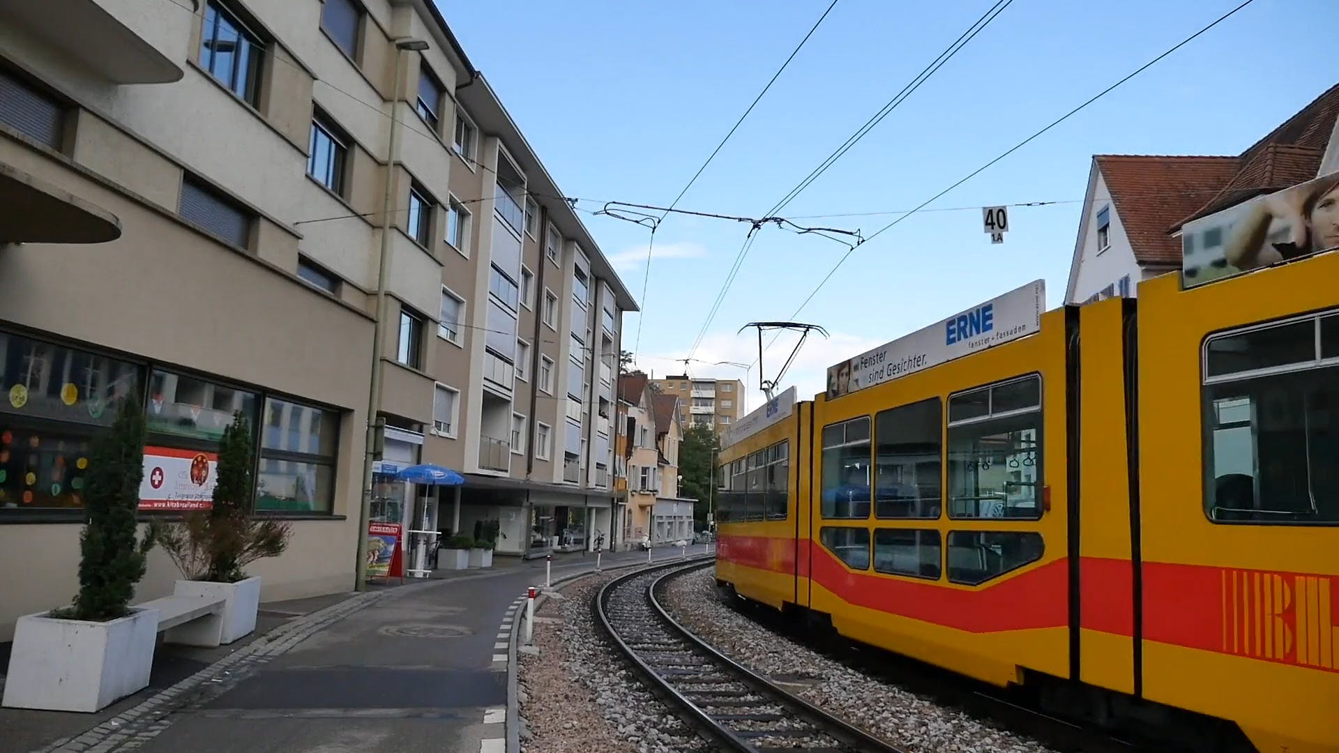 Video Of Tram Passing