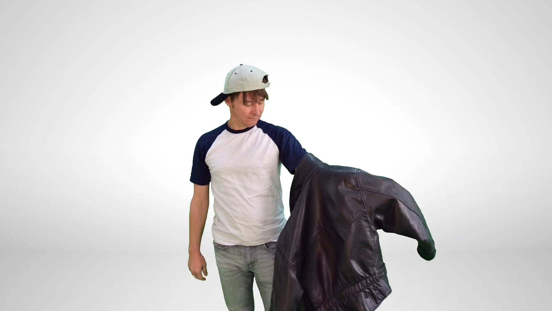 Stop Motion Video Of Man Wearing Jacket