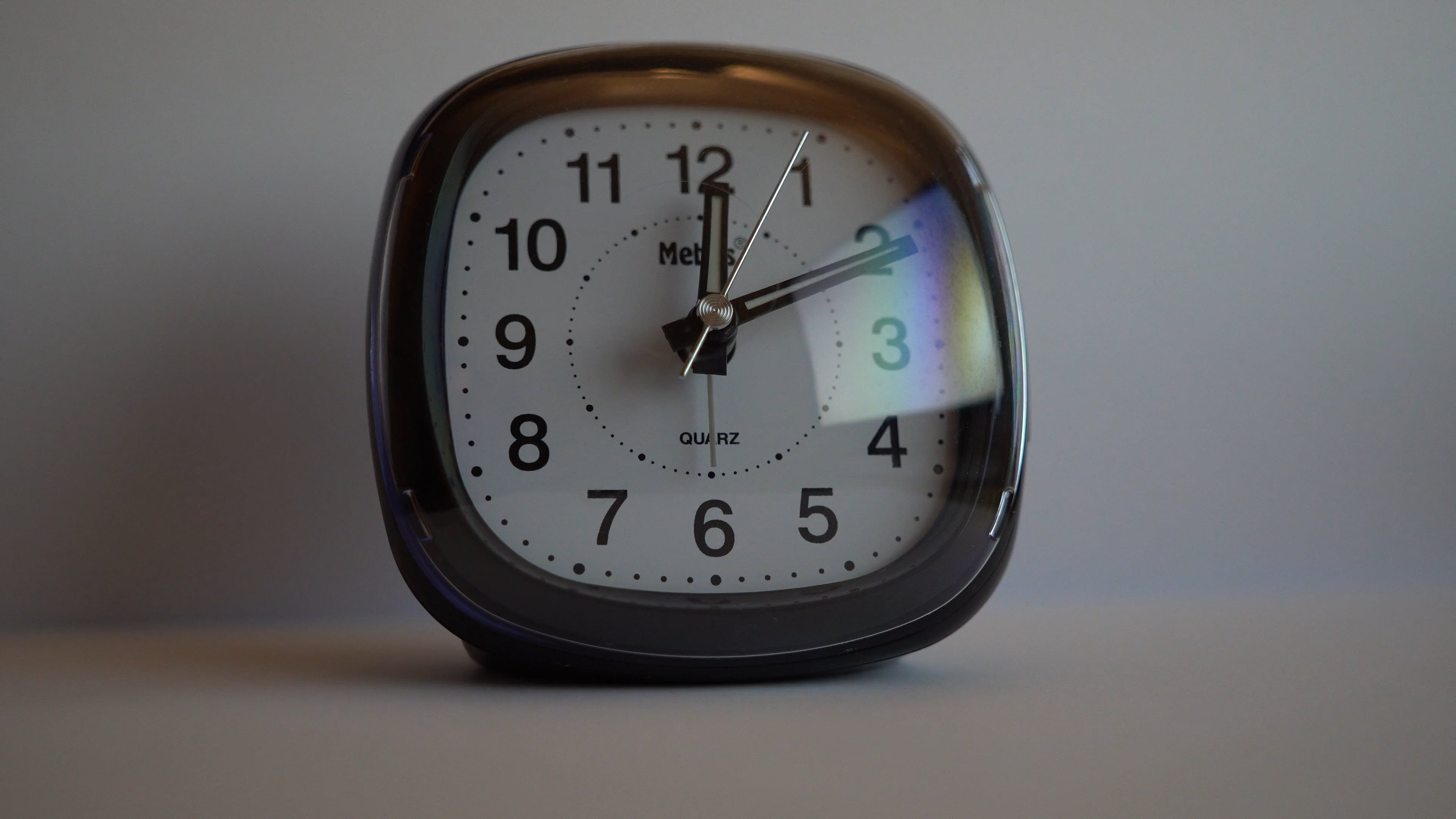 Close Up Video Of A Clock