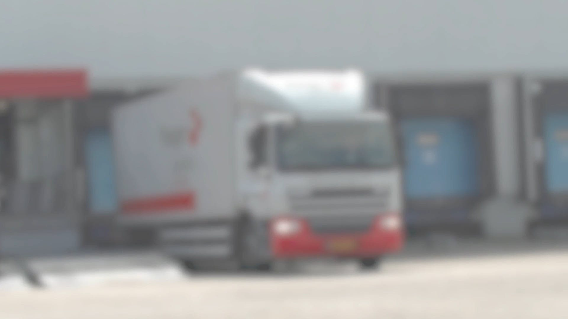 Blurry Video Of Truck