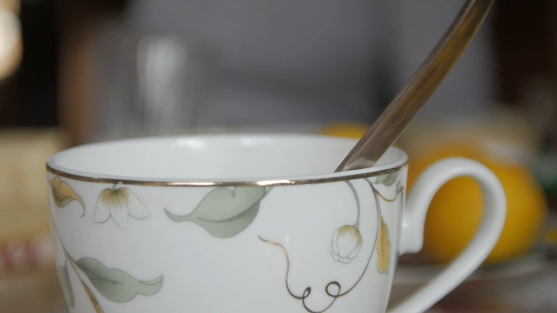 Close-Up Shot Of Cup