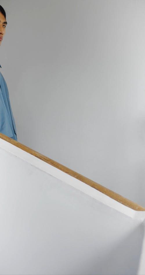 Men Walking on the Stairs