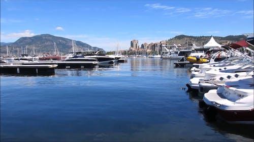Yachts Docked