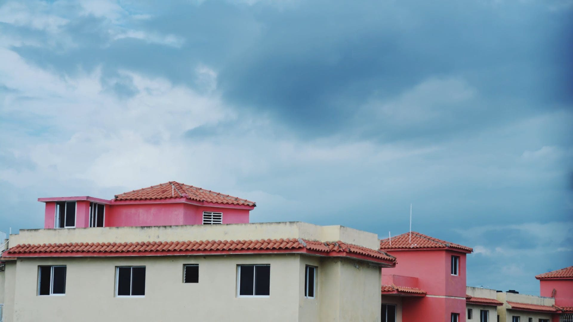 Clouds Over Houses