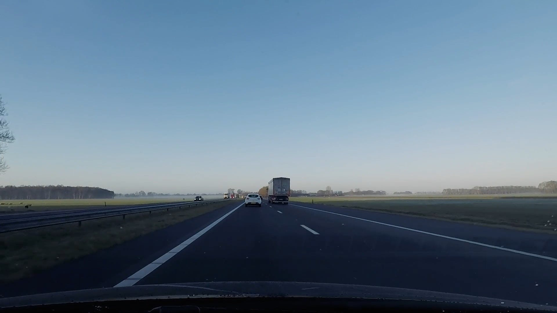 Time Lapse Video Of Roadtrip