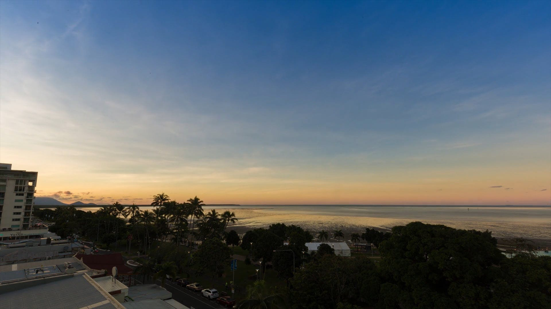 Time Lapse Video Of Sunset By The Beach Front