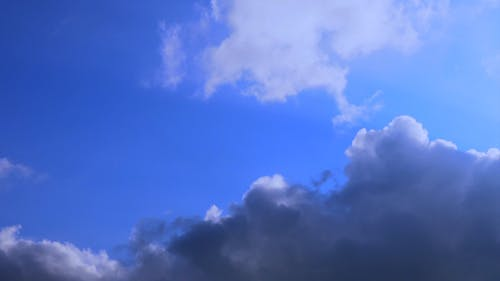 Video Of Blue Sky And Clouds