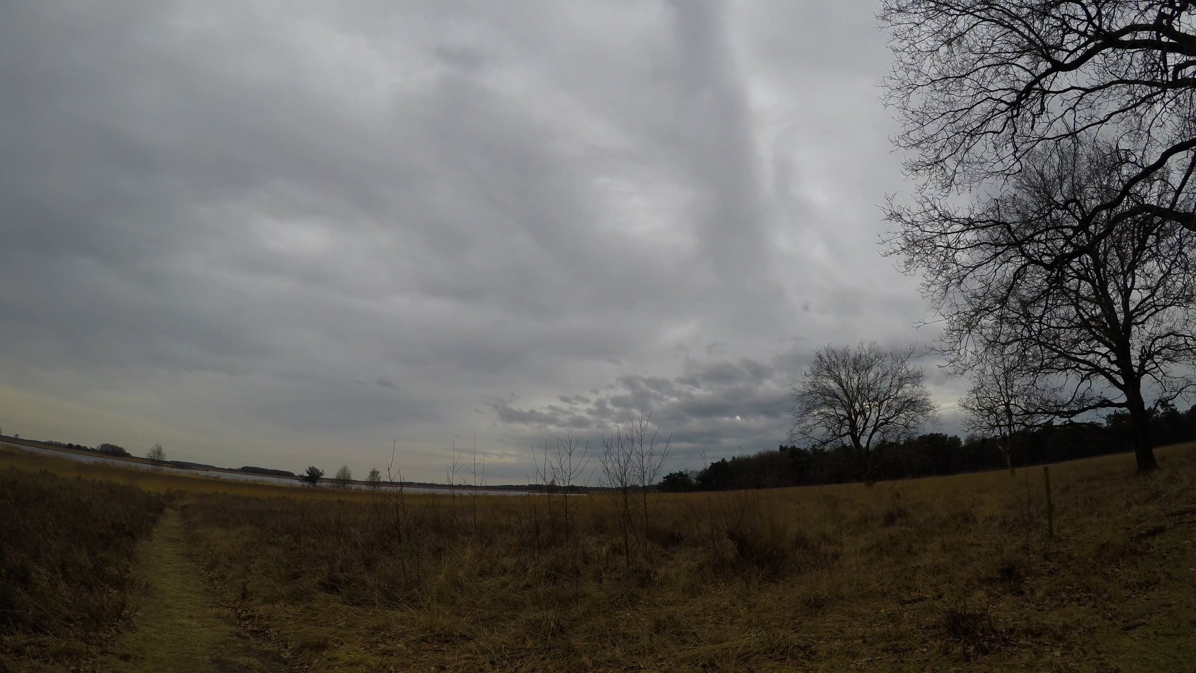Time Lapse Of Clouds