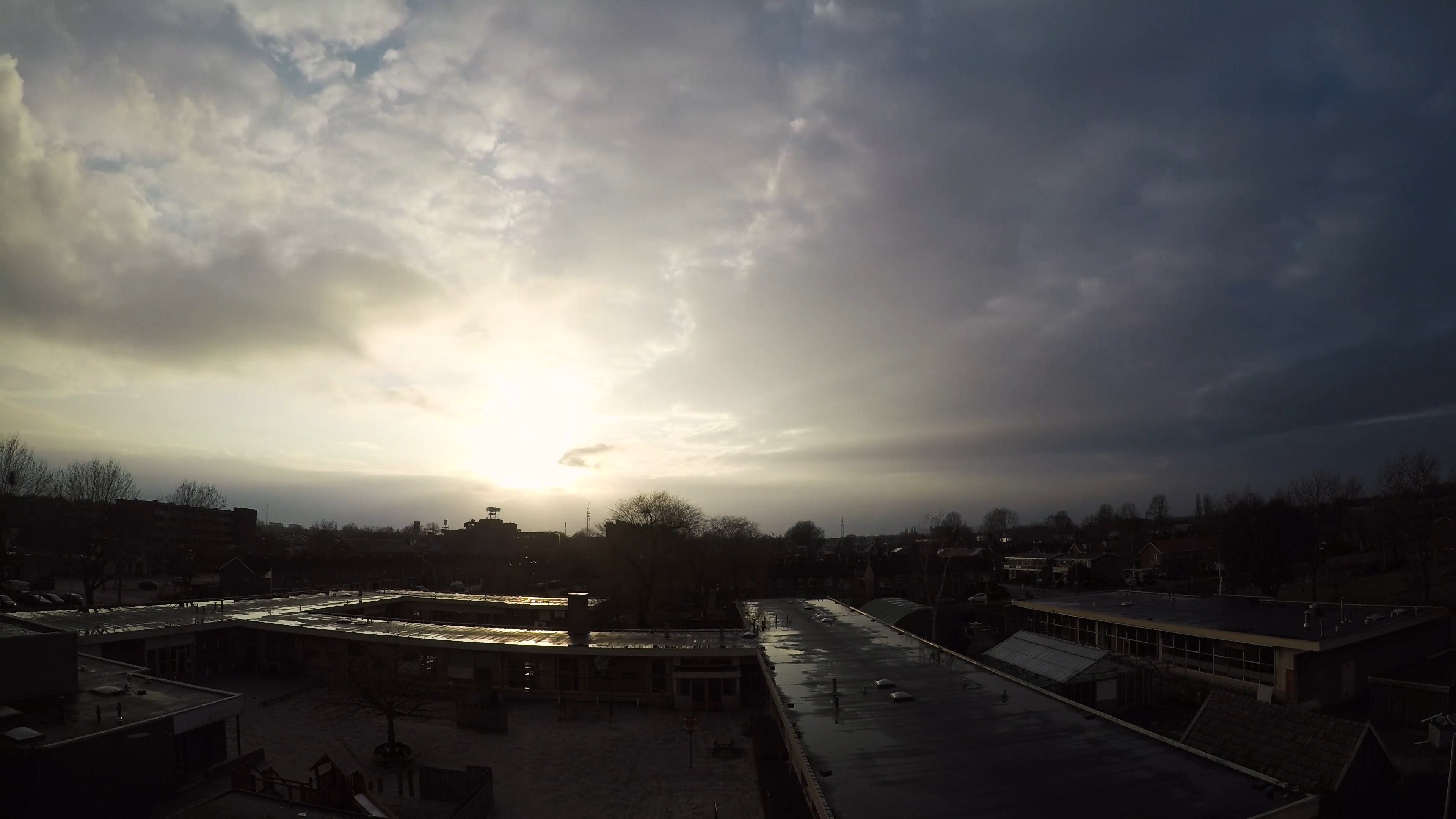 Time Lapse Video During Evening
