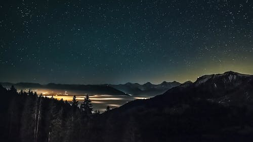 Time Lapse Video Of Starry Sky
