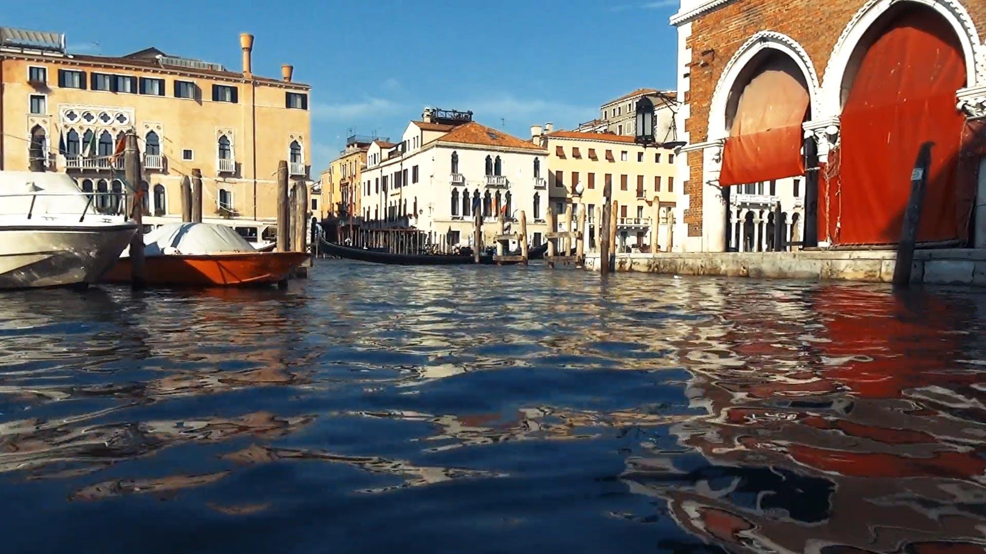 Gondola Passing By
