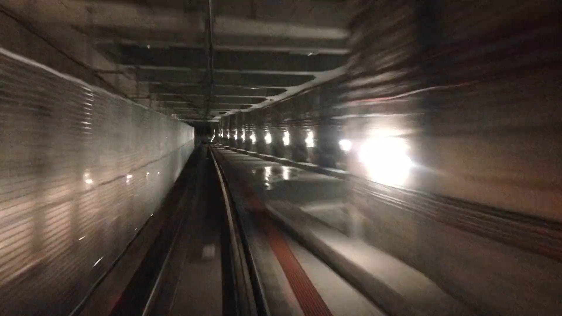 Inside A Tunnel