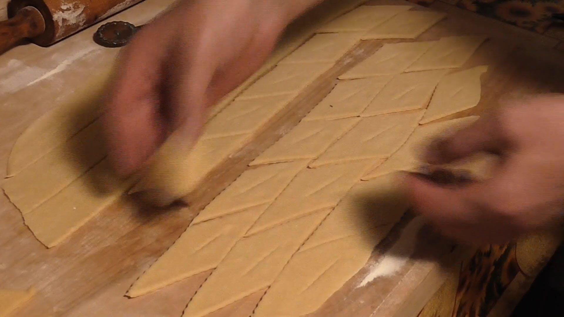 Pastry Chef Making Faworki
