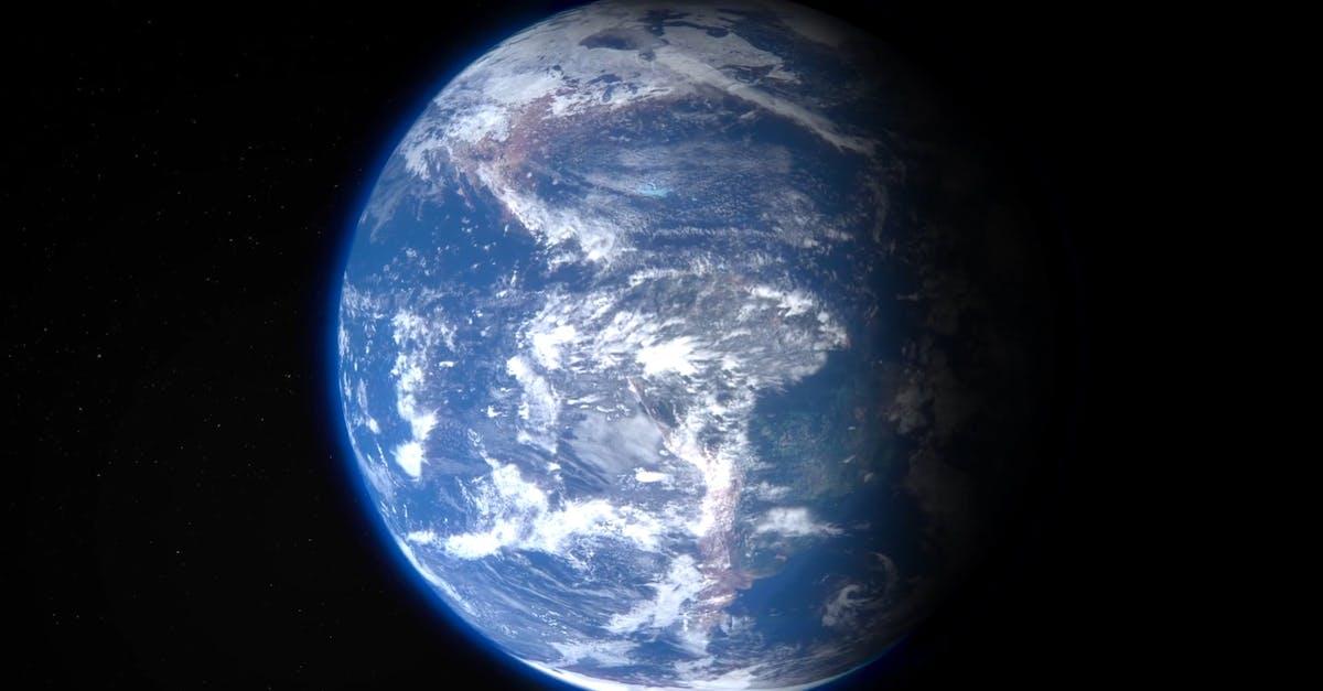 Обои планета земля из космоса анимация