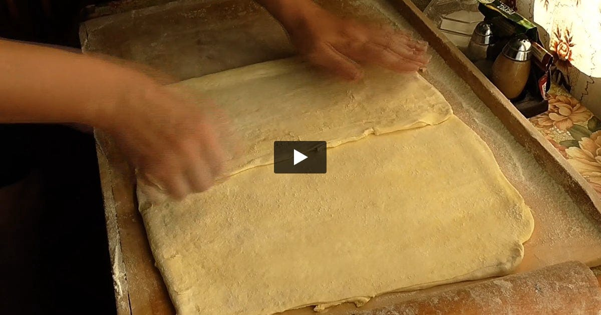 Folding Pastry Dough