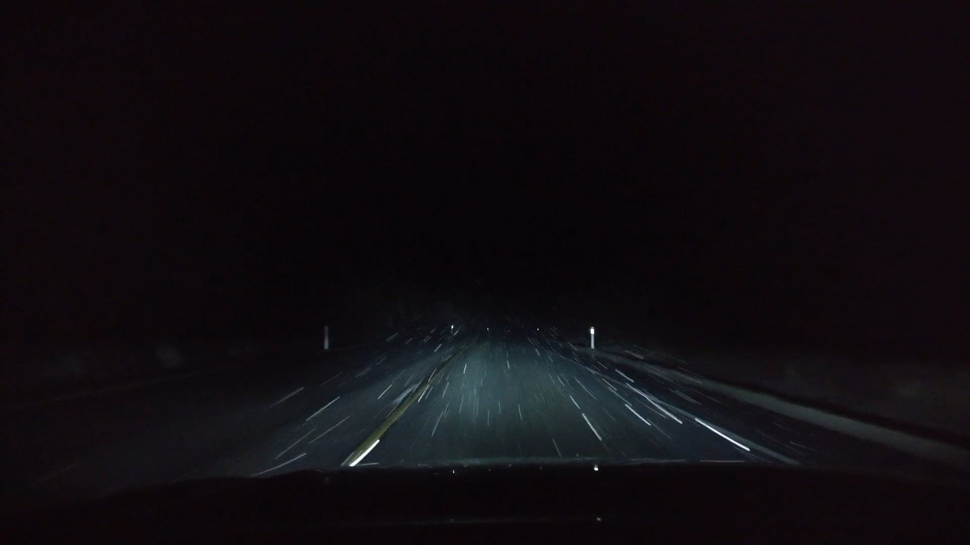 Roadtrip At Night