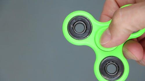 Spinning A Fidget Spinner
