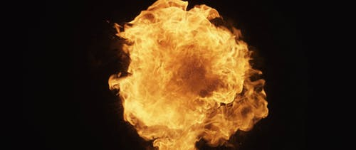 Fire Explosion Video