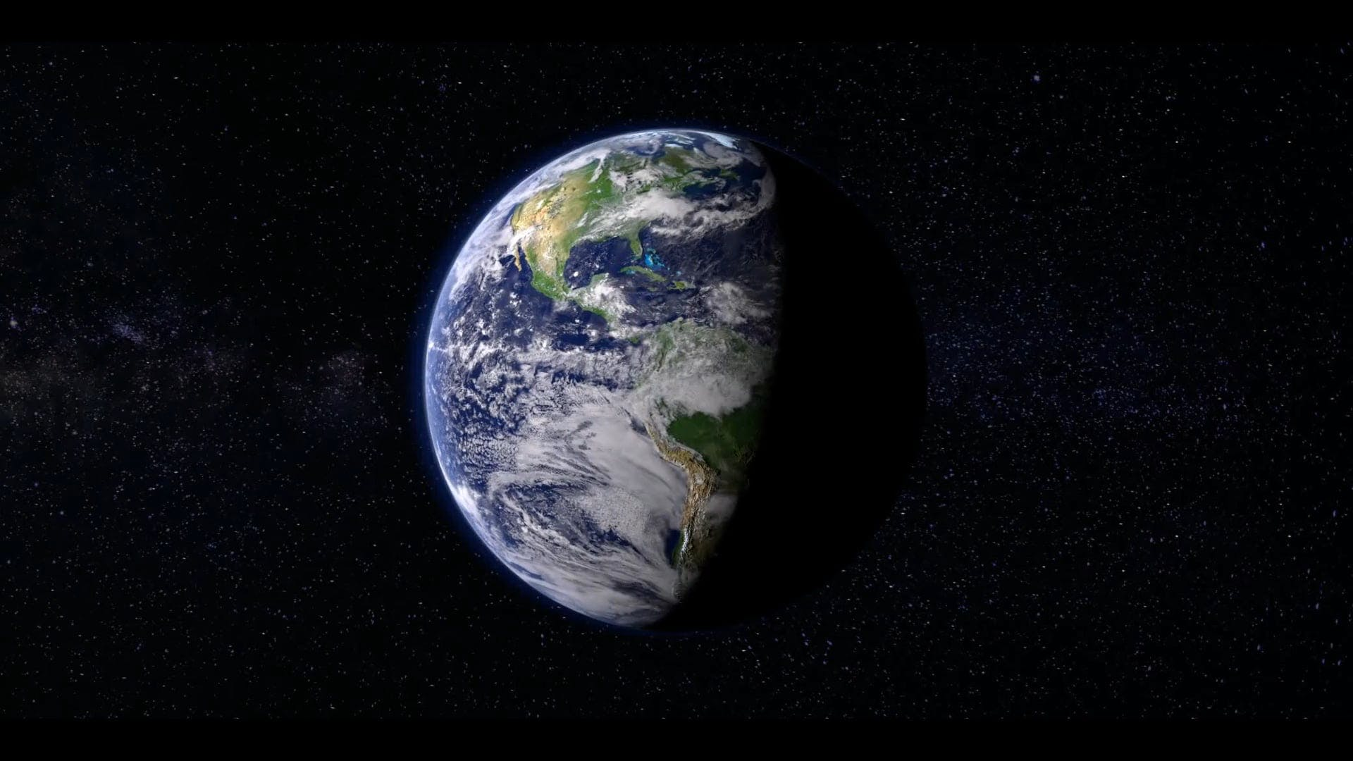Earth Rotating Video